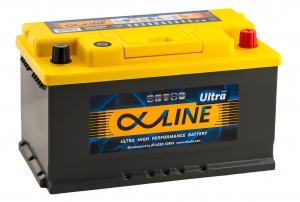 AlphaLINE Ultra 80RS 800А обратная полярность 80 Ач (315x175x175)