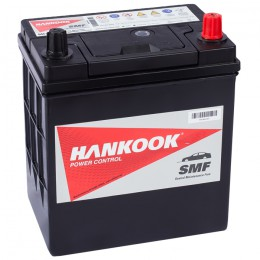 Автомобильный аккумулятор HANKOOK 40R (46B19L) 370А обратная полярность 40 Ач (186x126x225) фото