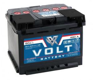 VOLT CLASSIC 60L 480A 242x175x190