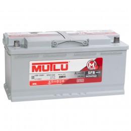Автомобильный аккумулятор MUTLU Mega Calcium 110R 920А обратная полярность 110 Ач (393x175x190) фото
