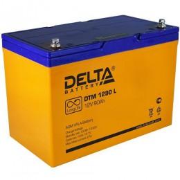 Аккумулятор для ИБП Delta DTM 1290 L универсальная полярность 90 Ач (306x169x210) фото