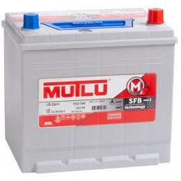 MUTLU Mega Calcium 60R (55D23L) 520А обратная полярность 60 Ач (232x173x225)
