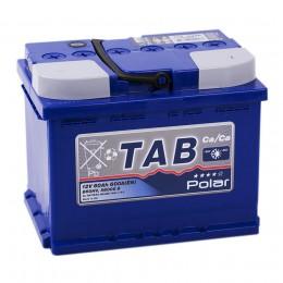 Автомобильный аккумулятор TAB POLAR 60R 600А обратная полярность 60 Ач (242x175x190) фото