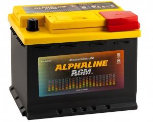 AlphaLINE AGM 60R 680А обратная полярность 60 Ач (242x175x190)