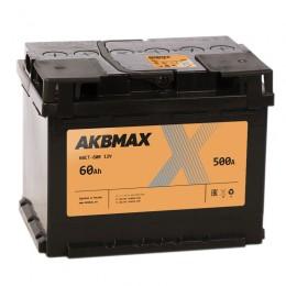 AKBMAX 60R 500А обратная полярность 60 Ач (242x175x190)