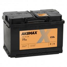 AKBMAX 77L 650A (contact) 276x175x190