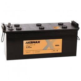 AKBMAX 135 euro 900А обратная полярность 135 Ач (513x189x218)