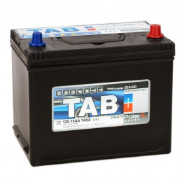 Автомобильный аккумулятор TAB POLAR S 75R 740А обратная полярность 75 Ач (260x175x220) фото