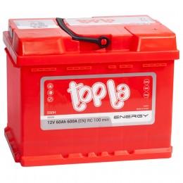 Автомобильный аккумулятор Topla Energy 60R 600А обратная полярность 60 Ач (242x175x190) фото