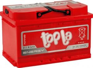 Topla Energy 73R 630А обратная полярность 73 Ач (279x175x175)
