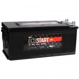 Автомобильный аккумулятор ECOSTART 190 под болт 1300А прямая полярность 190 Ач (513x222x217) фото