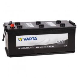 Автомобильный аккумулятор VARTA Promotive Black M10 190 рус 1200А прямая полярность 190 Ач (513x223x223) фото