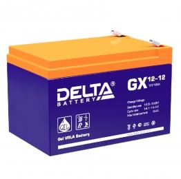 Delta GX 12-12 180А универсальная полярность 12 Ач (151x95x101)
