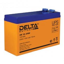 Аккумулятор для ИБП Delta HR 12-24W 135А универсальная полярность 6 Ач (151x50x94) фото