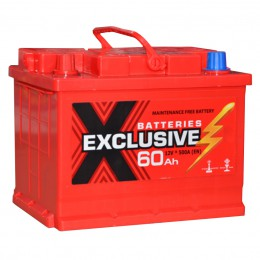 EXCLUSIVE 60L 480A 242x175x190