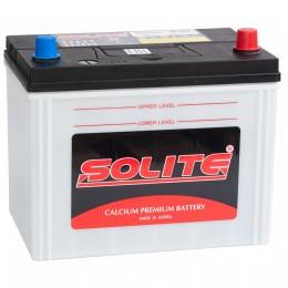 Автомобильный аккумулятор SOLITE 85R (95D26L)без борта 650А обратная полярность 85 Ач (260x168x220) фото