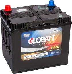 Globatt 75D23L (65R) 600А обратная полярность 65 Ач (230x168x220)