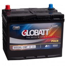 Globatt 80D26L (70R) 600А обратная полярность 70 Ач (260x175x220)