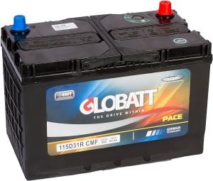 Globatt 115D31R (95L) 800А прямая полярность 95 Ач (301x175x220)