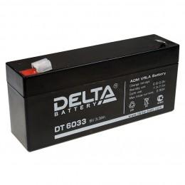 Аккумулятор для ИБП Delta DT 6033 универсальная полярность 4 Ач (134x34x67) фото
