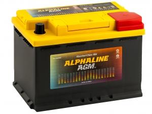AlphaLINE AGM 70R 760А обратная полярность 70 Ач (278x175x190)