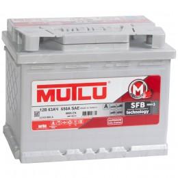 MUTLU Mega Calcium 63R 600А обратная полярность 63 Ач (242x175x190)