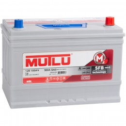 MUTLU Mega Calcium 115D31L 850А обратная полярность 100 Ач (301x175x220)