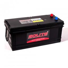 Автомобильный аккумулятор SOLITE 245H52 euro 1300А обратная полярность 220 Ач (510x275x238) фото