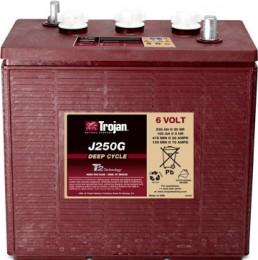Тяговый аккумулятор TROJAN J250G 6V 235A универсальная полярность 235 Ач (309x174x290) фото