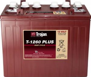 TROJAN T1260+ 12V 140A  универсальная полярность 140 Ач (329x181x272)