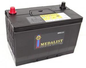 MEDALIST 100R (115D31L) 850А обратная полярность 100 Ач (306x173x225)