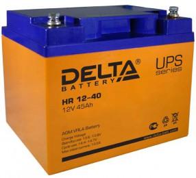 Delta HR 12-40 универсальная полярность 40 Ач (198x166x170)