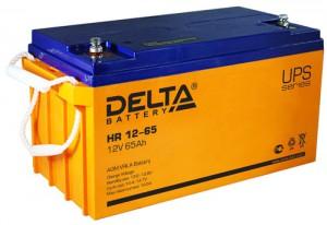 Delta HR 12-65 универсальная полярность 65 Ач (350x167x179)