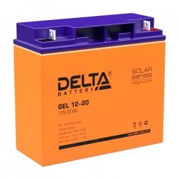 Delta GEL 12-20 универсальная полярность 20 Ач (181x77x167)