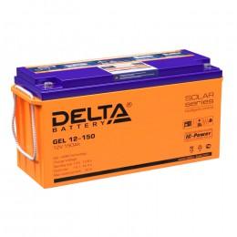 Delta GEL 12-150 универсальная полярность 150 Ач (482x170x240)