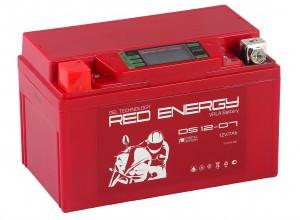 Аккумулятор для мототехники Red Energy DS 12-07 110А прямая полярность 7 Ач (150x87x93) фото
