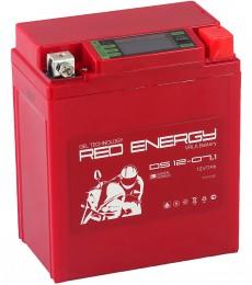 Аккумулятор для мототехники Red Energy DS 12-07.1 110А обратная полярность 7 Ач (114x71x131) фото