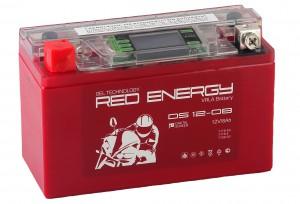 Аккумулятор для мототехники Red Energy DS 12-08 120А прямая полярность 8 Ач (150x66x95) фото