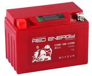 Red Energy DS 12-09 140А Прямая полярность 9 Ач (150x86x108).