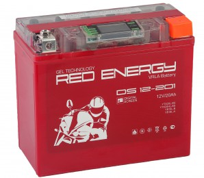 Аккумулятор для мототехники Red Energy DS 12-201 285А обратная полярность 20 Ач (177x88x154) фото