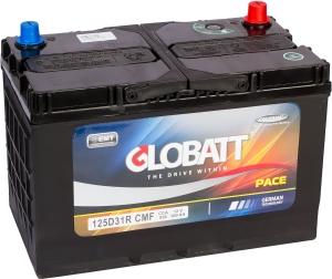 Автомобильный аккумулятор Globatt 125D31L (100R) 950А обратная полярность 100 Ач (301x175x220) фото