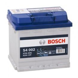 BOSCH S4 002 (52R) 470А обратная полярность 52 Ач (207x175x190)