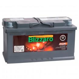 BLIZZARO AGM 92R 850А обратная полярность 92 Ач (353x175x190)