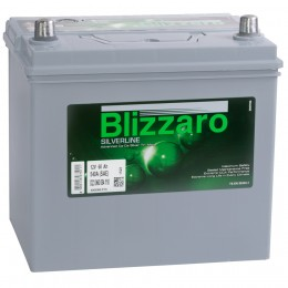BLIZZARO SILVERLINE 60L 540A 232x173x225