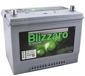 Автомобильный аккумулятор BLIZZARO SILVERLINE 72R 600А обратная полярность 72 Ач (260x175x225) фото