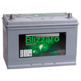 Автомобильный аккумулятор BLIZZARO SILVERLINE 100L 760А прямая полярность 100 Ач (306x173x225) фото
