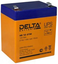 Delta HR 12-21W универсальная полярность 5 Ач (90x70x107)