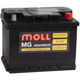 Автомобильный аккумулятор MOLL MG 60R 550А обратная полярность 60 Ач (242x175x190) фото