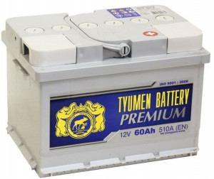 Тюмень Premium 60R  510А обратная полярность 60 Ач (242x175x175)