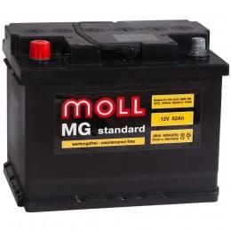 MOLL MG 62L 600А прямая полярность 62 Ач (242x175x190)